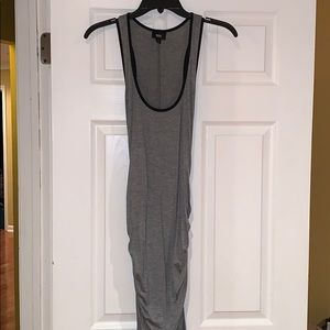 Mossimo ruched side jersey maxi dress